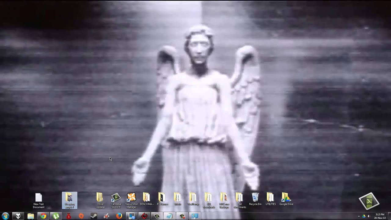 How to Make a Weeping Angels Animated wallpaper 1280x720