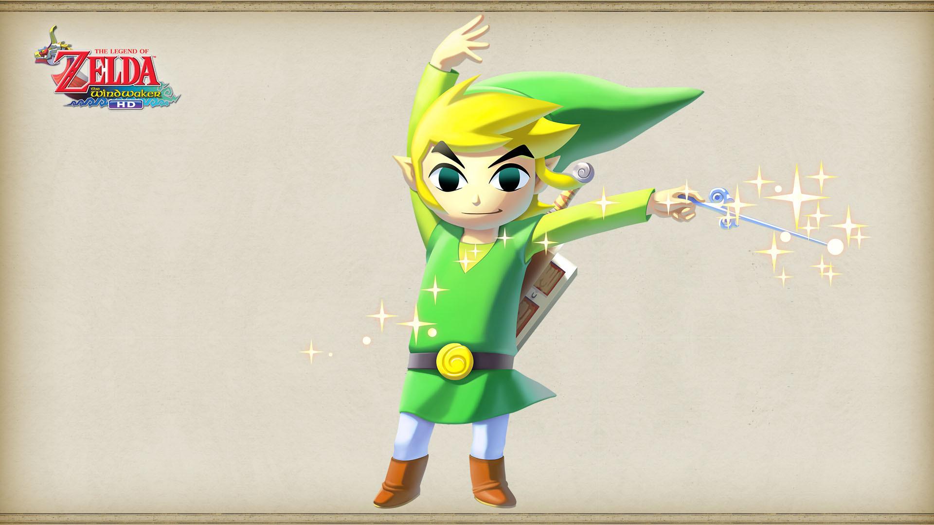 Fond dcran du jeu The Legend of Zelda The Wind Waker HD 1920x1080
