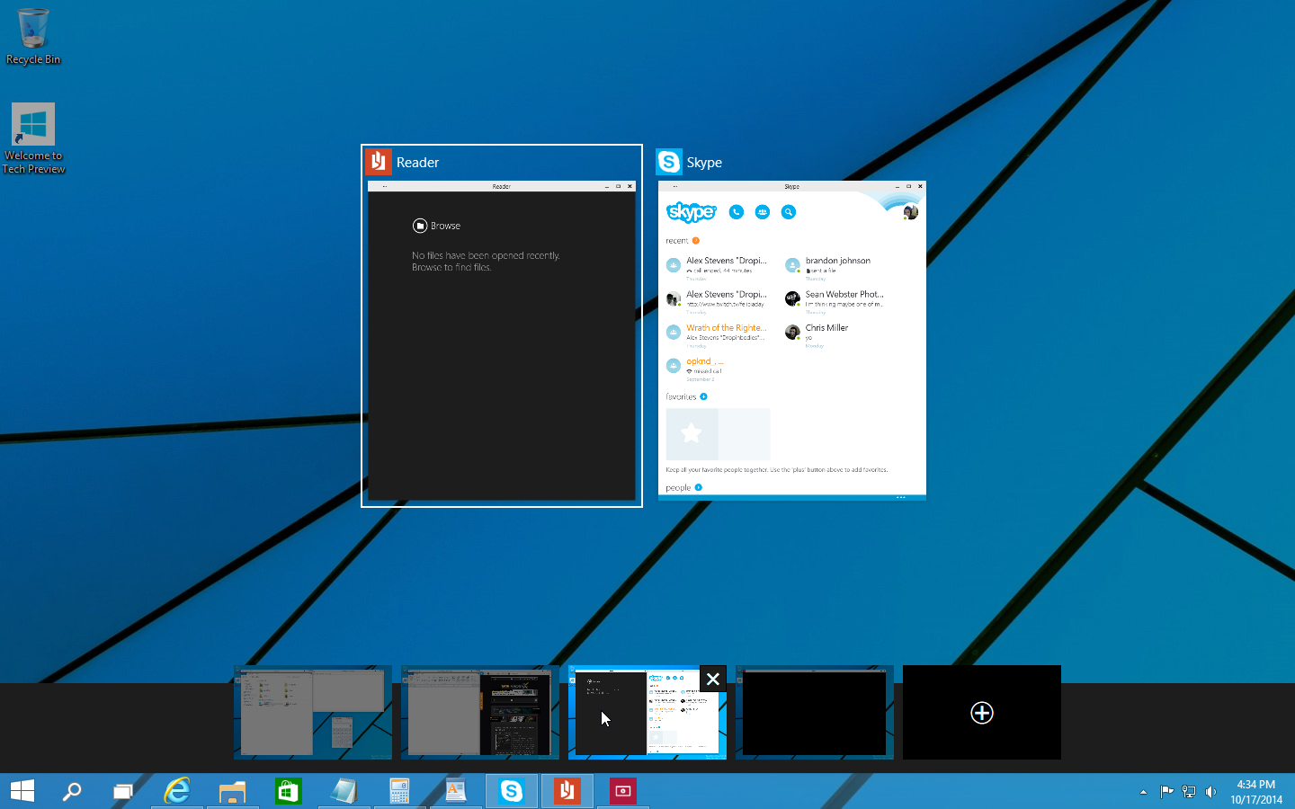 how to create different desktops in windows 10