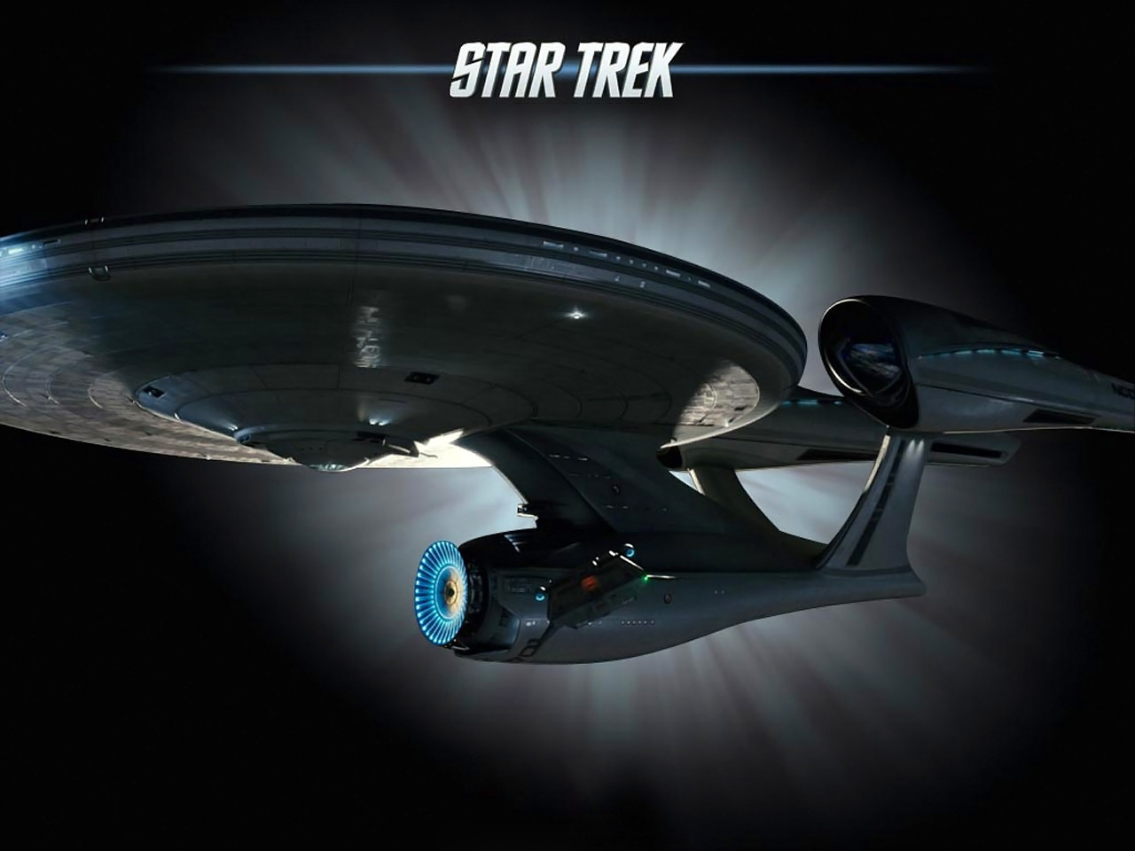 USS Enterprise NCC 1701 in the movie 2013 Star Trek   Movie Wallpapers 1280x960