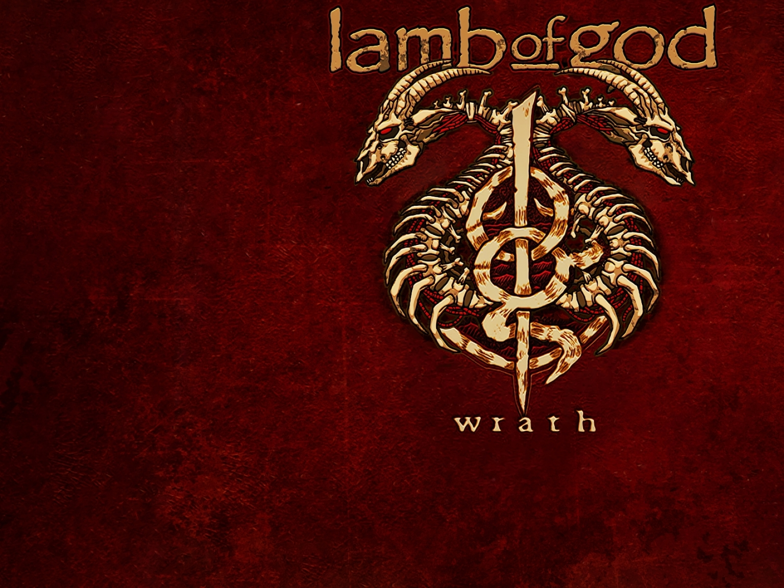 Download Wallpapers Download 1600x1200 lamb of god wrath by panico747 1600x1200
