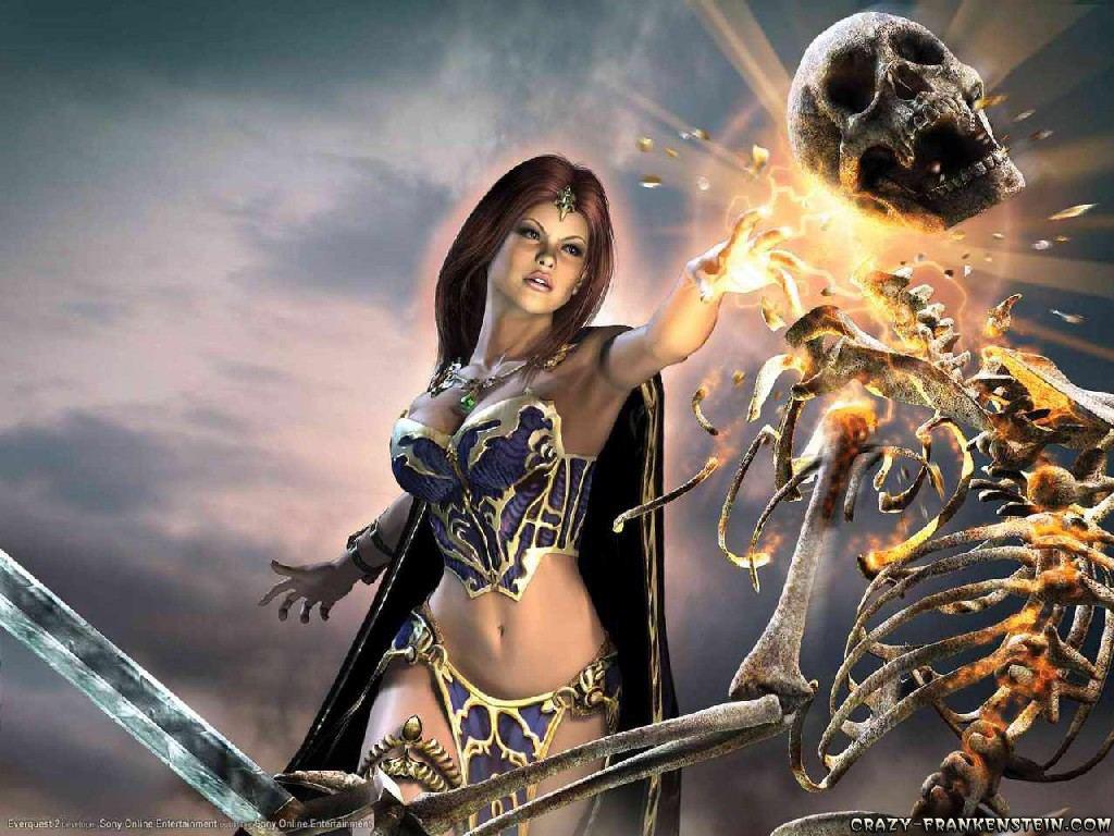 Everquest 2 II wallpapers   Games wallpapers   Crazy Frankenstein 1024x768