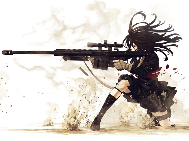 free 640X480 Sniper 640x480 wallpaper screensaver preview id 108410 640x480