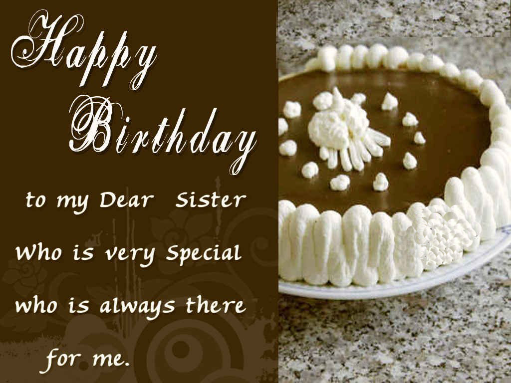 Happy Birthday Sister Greeting Cards Hd Wishes Wallpapers 1024x768