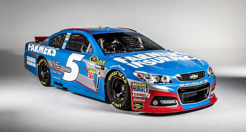 Kasey Kahne 2013 The new chevy ss for 2013 800x432