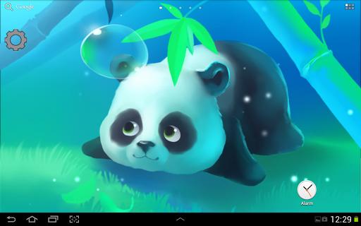 48 animated panda wallpaper on wallpapersafari - Panda anime wallpaper ...