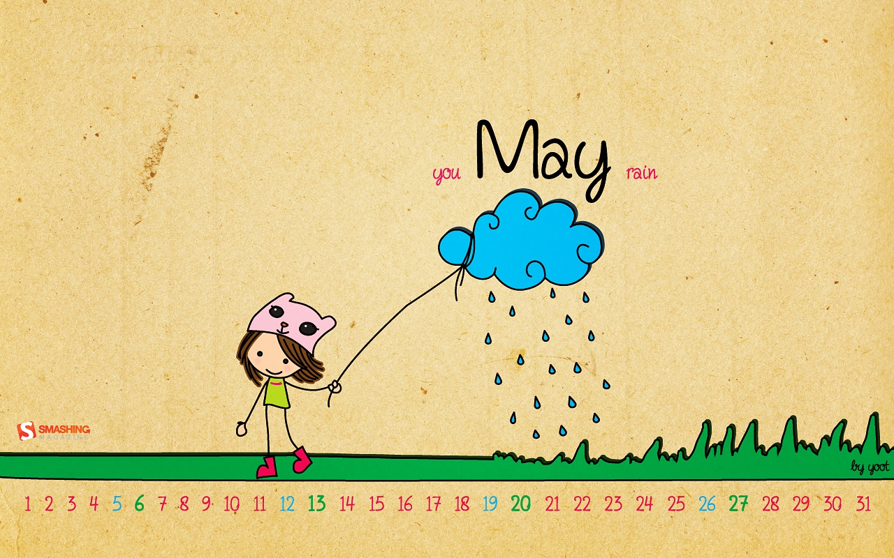 Desktop Wallpaper Calendars May 2012 Smashing Magazine 1280x800
