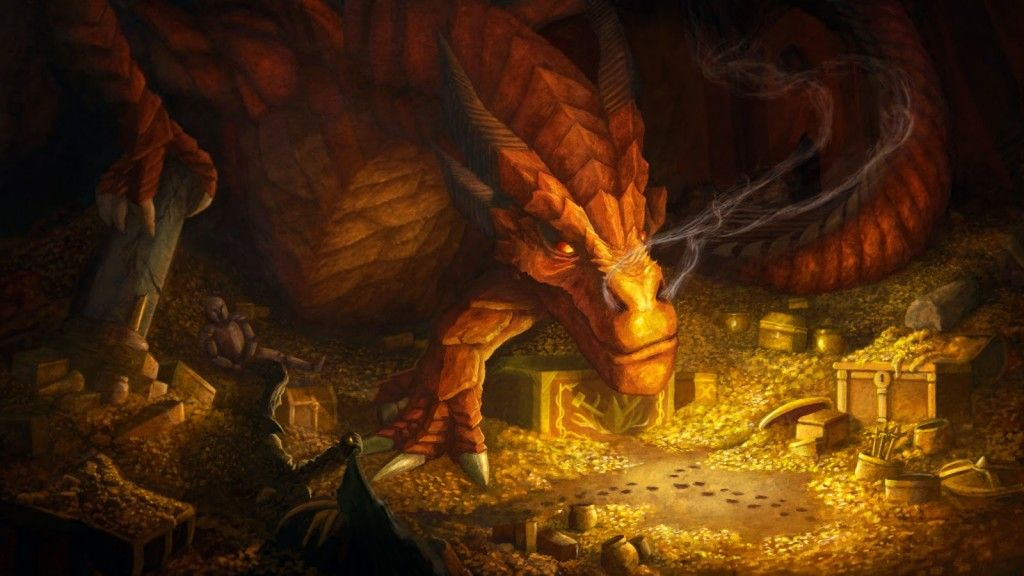 hobbit desolation of smaug dragon 5534 hd widescreen wallpapers 1024x576