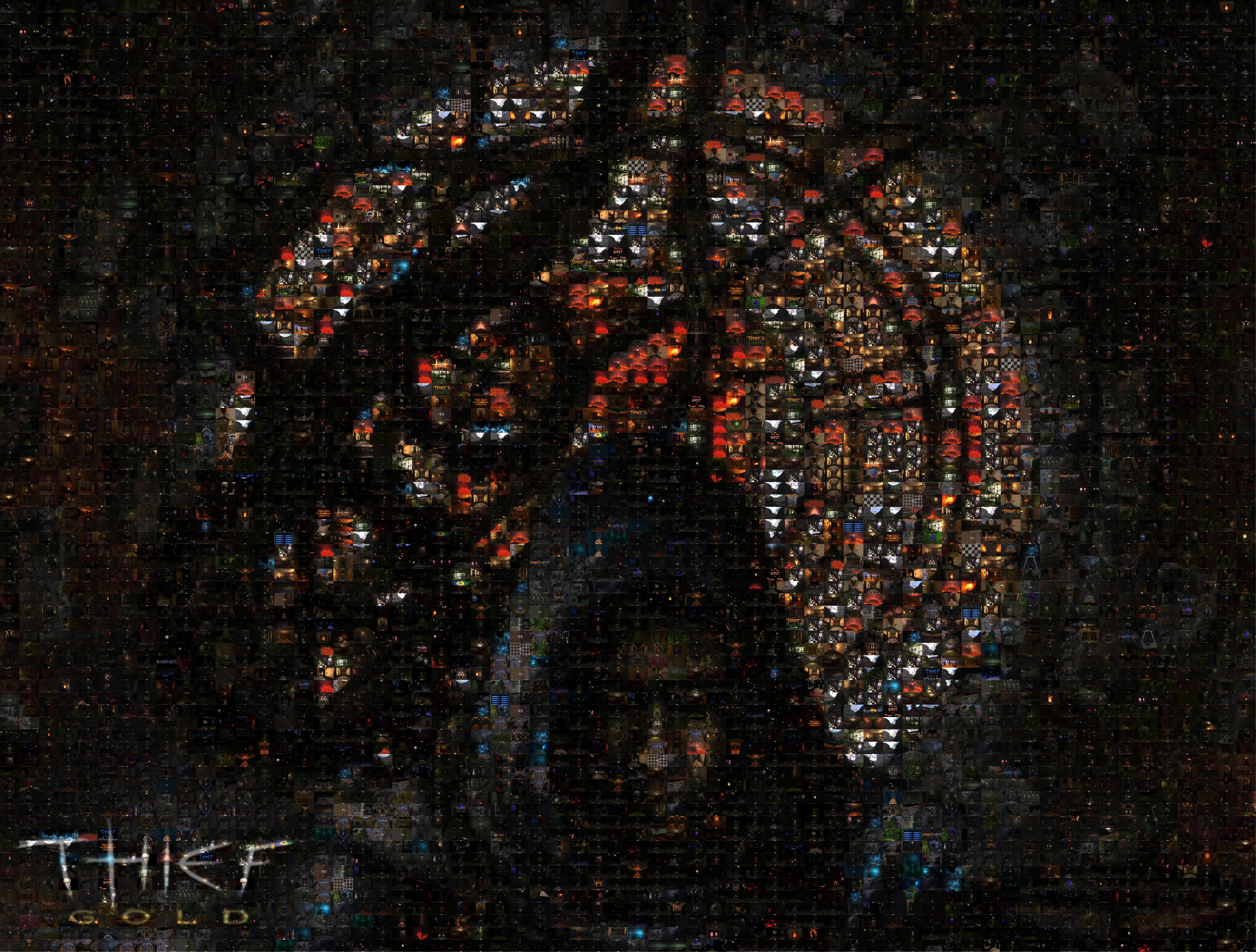 Thief Gold HD Mosaic Wallpaper image   Mod DB 4671x3542