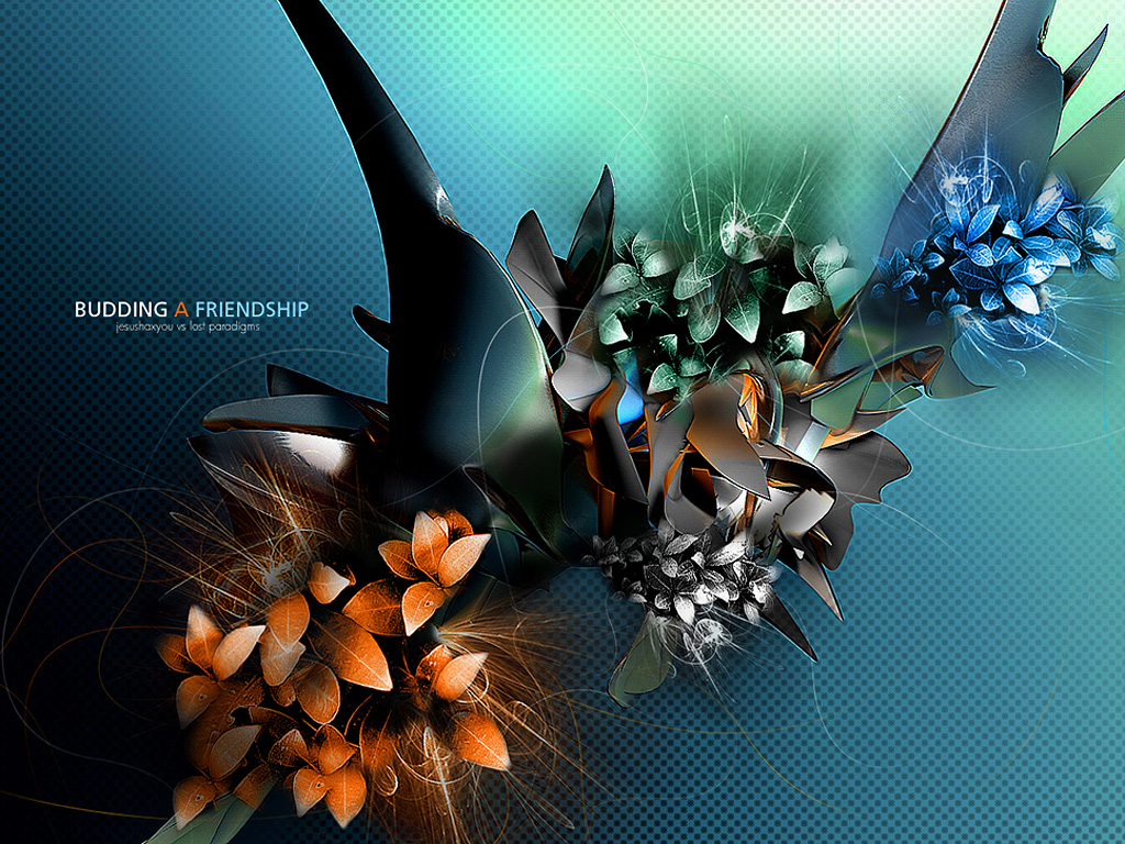 3D Flowers Wallpapers 3D Wallpaper Download 1024x768