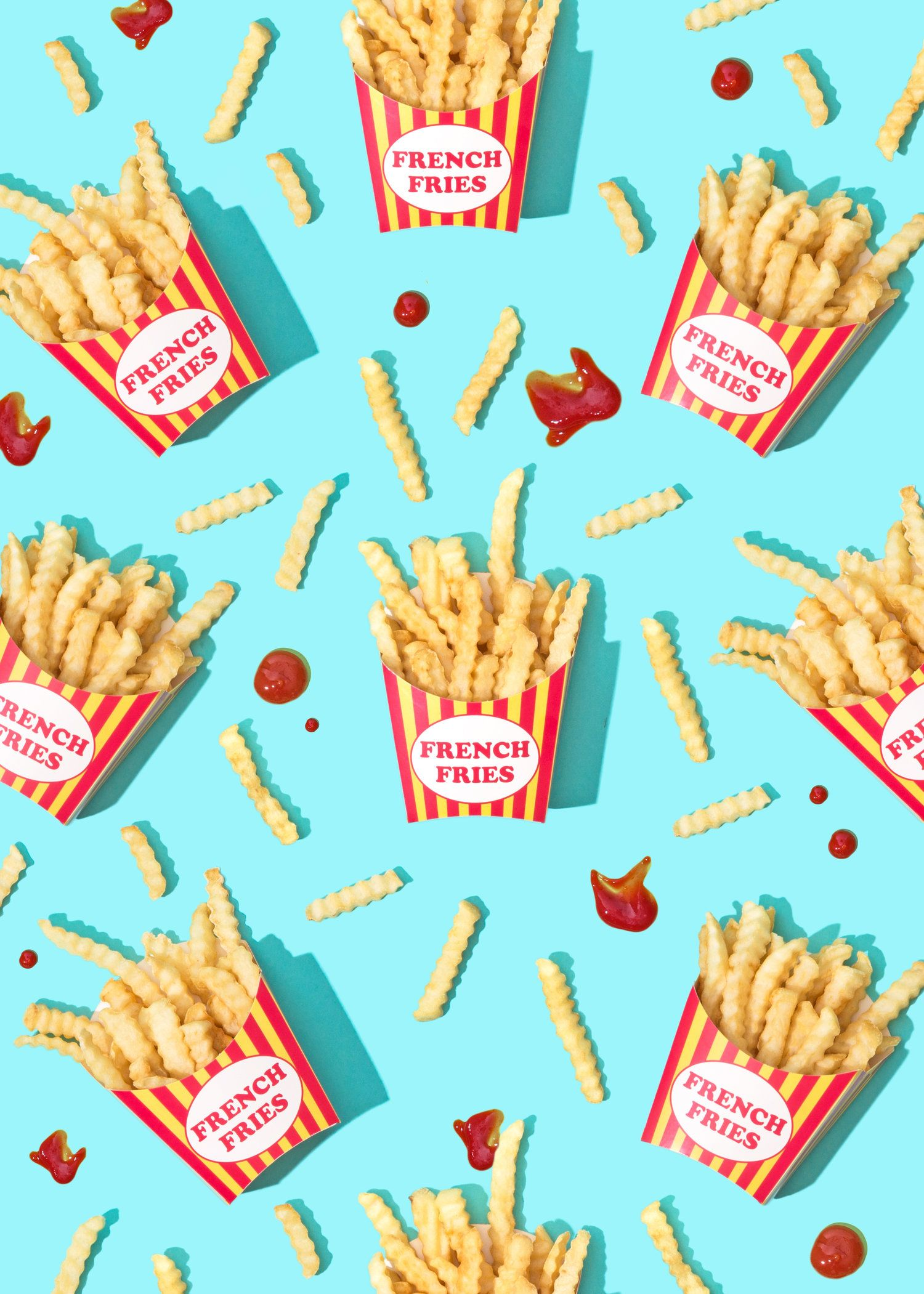 National French Fry Day Wallpaper Download Food wallpaper 1500x2101