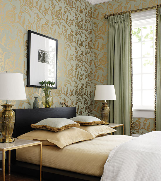 Wallpaper And Matching Bedding Wallpapersafari