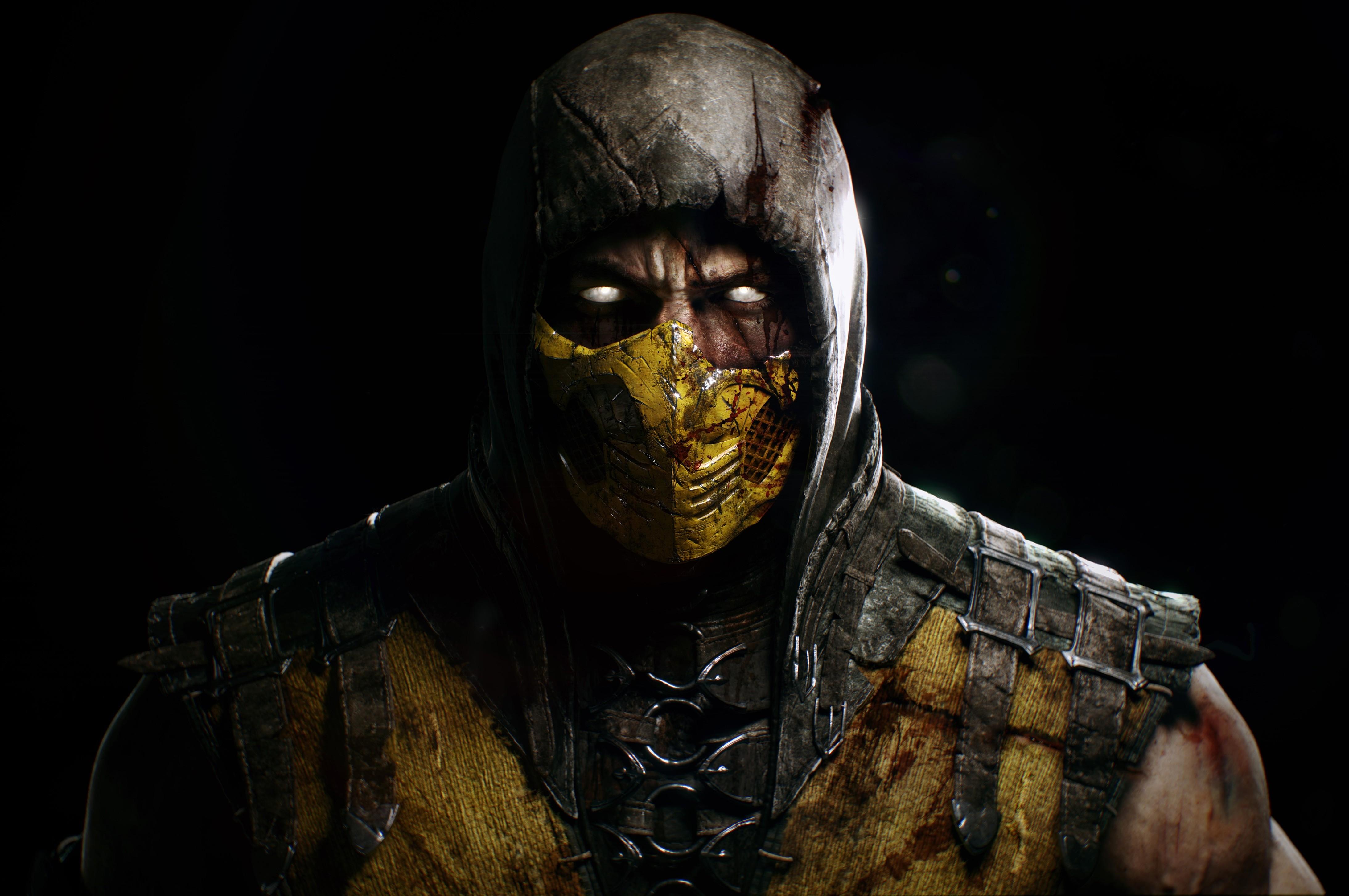 Scorpion Mortal Kombat X Wallpapers HD   Bhstormcom 4375x2906