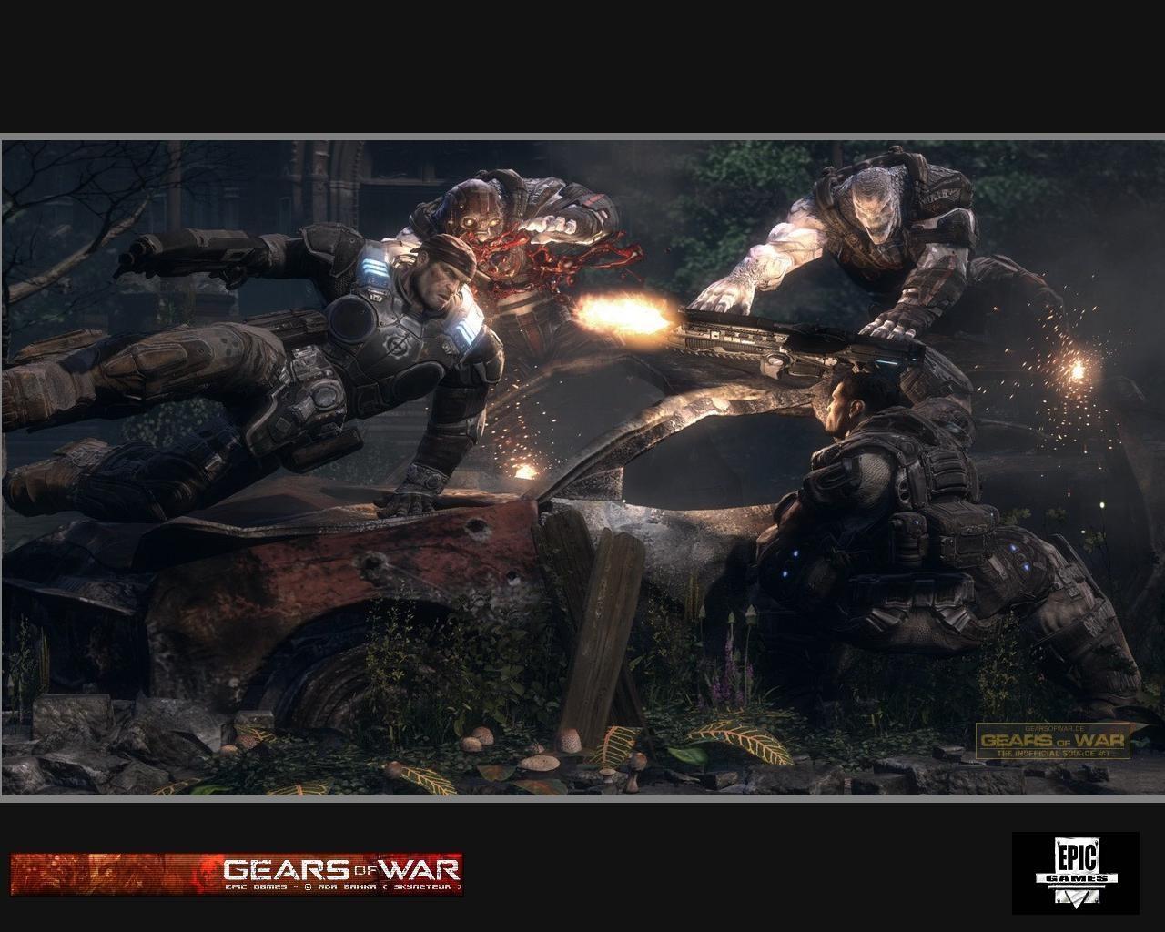 your gamer background wallpapers gears war epic games wallpaperjpg 1280x1024