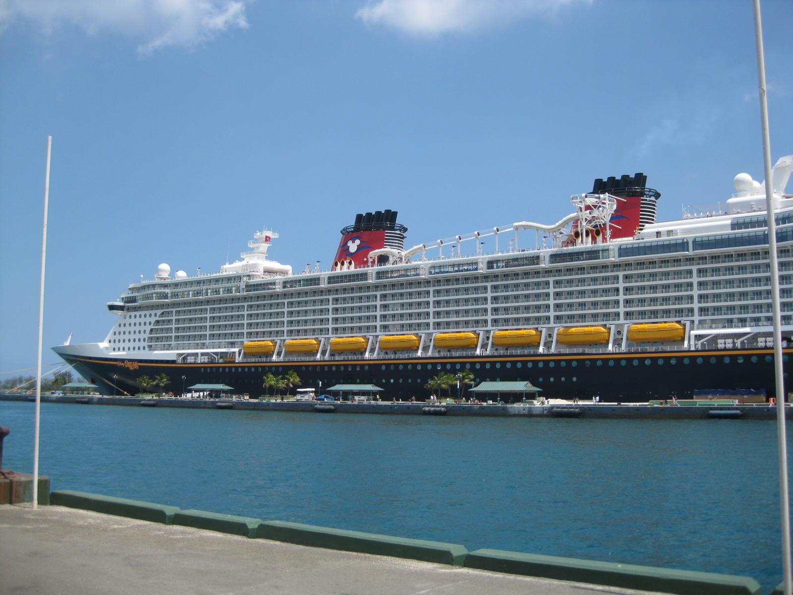 create an immersive brand part 1 Disney Dream cruise ship in port 1600x1200