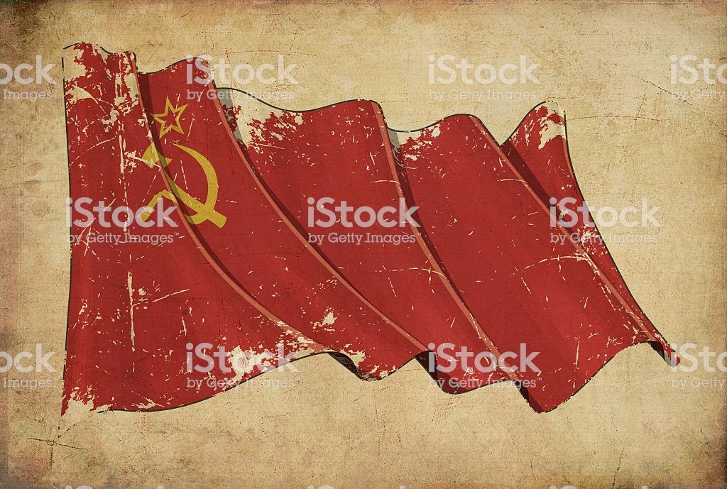 Soviet Union Grunge Flag Textured Background Wallpaper Stock Photo 1024x689
