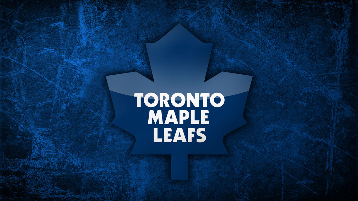 Toronto Maple Leafs Logo Wallpaper 66 of 100 HD Desktop 1366x768 1366x768