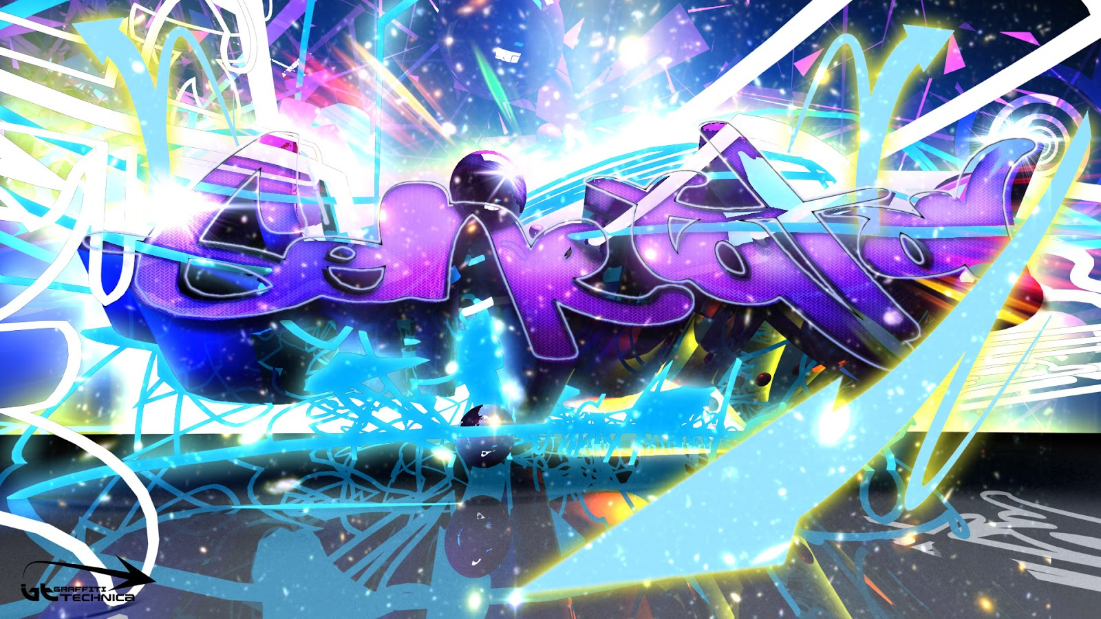 1018 AM admins Label graffiti wallpaper 1600x900