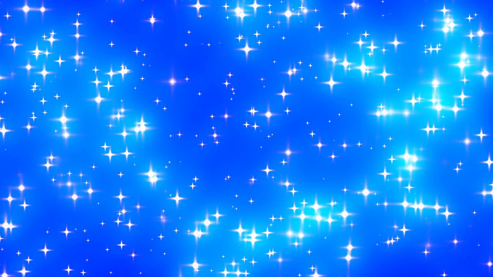 Blue Glowing Stars Background Loop 2 Den 69616   PNG Images   PNGio 1920x1080