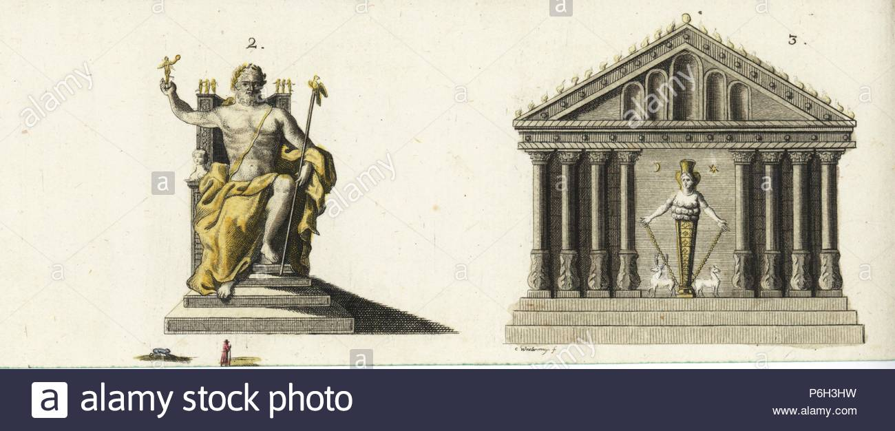 The Statue Of Zeus At Olympia Stock Photos The Statue Of Zeus At 1300x626
