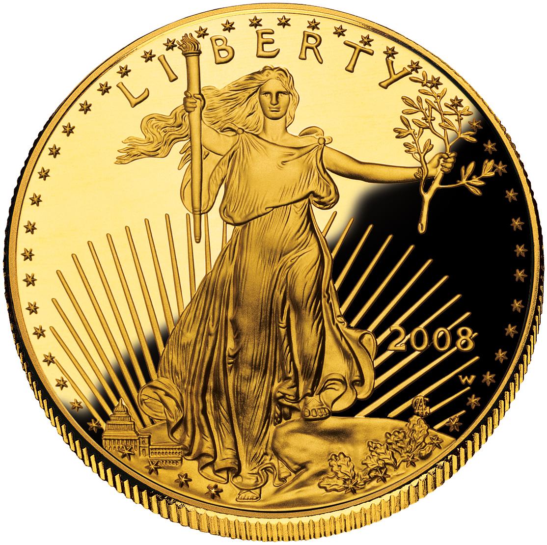 Gold Wallpaper Canada: Gold Coins Wallpaper