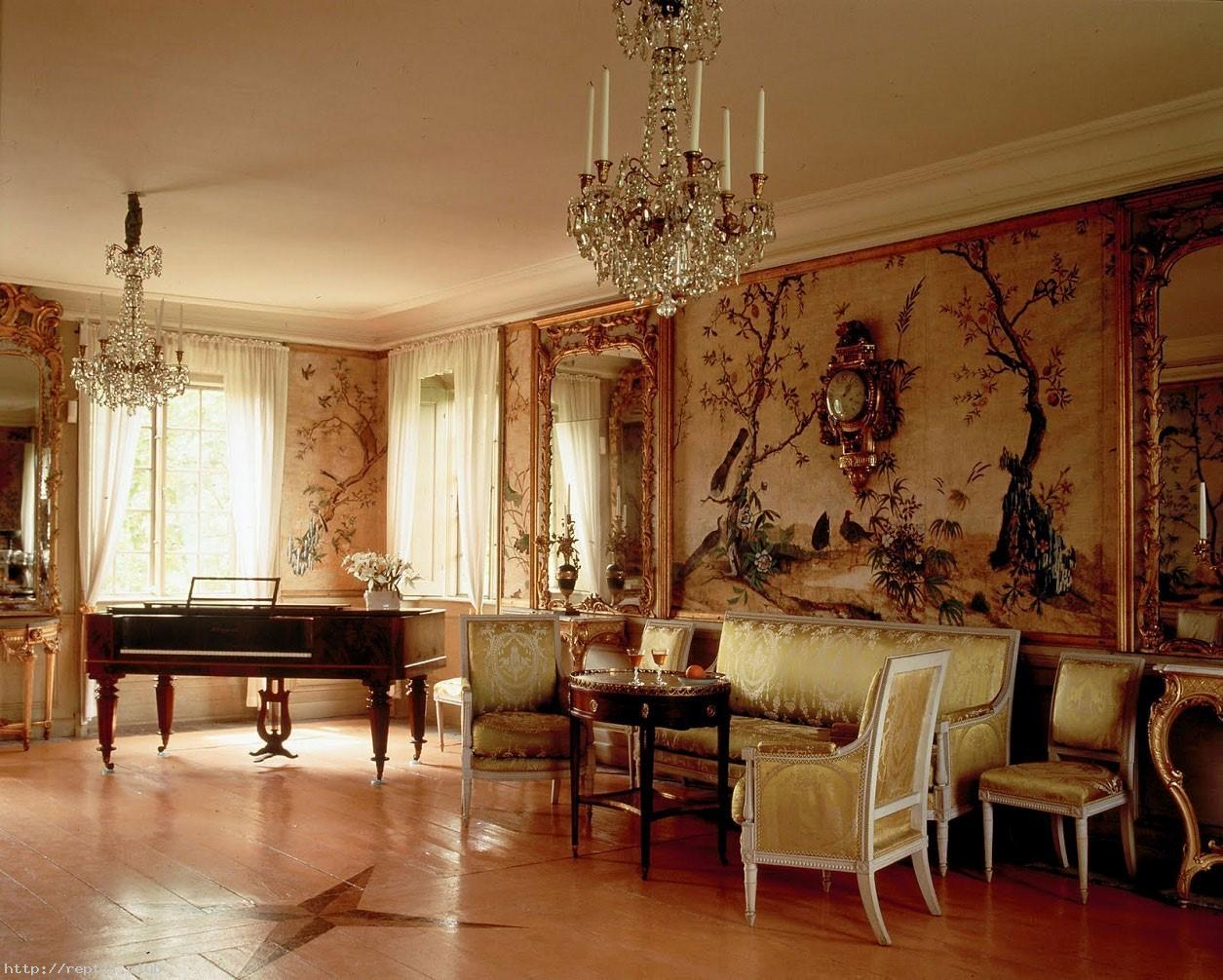Living Room French Country Living Room Decorating Ideas Wallpaper 1255x1006