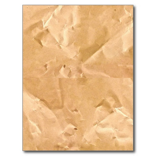 LIGHT BROWN PAPER BAG TEXTURE BACKGROUND WALLPAPER POST CARDS Zazzle 512x512