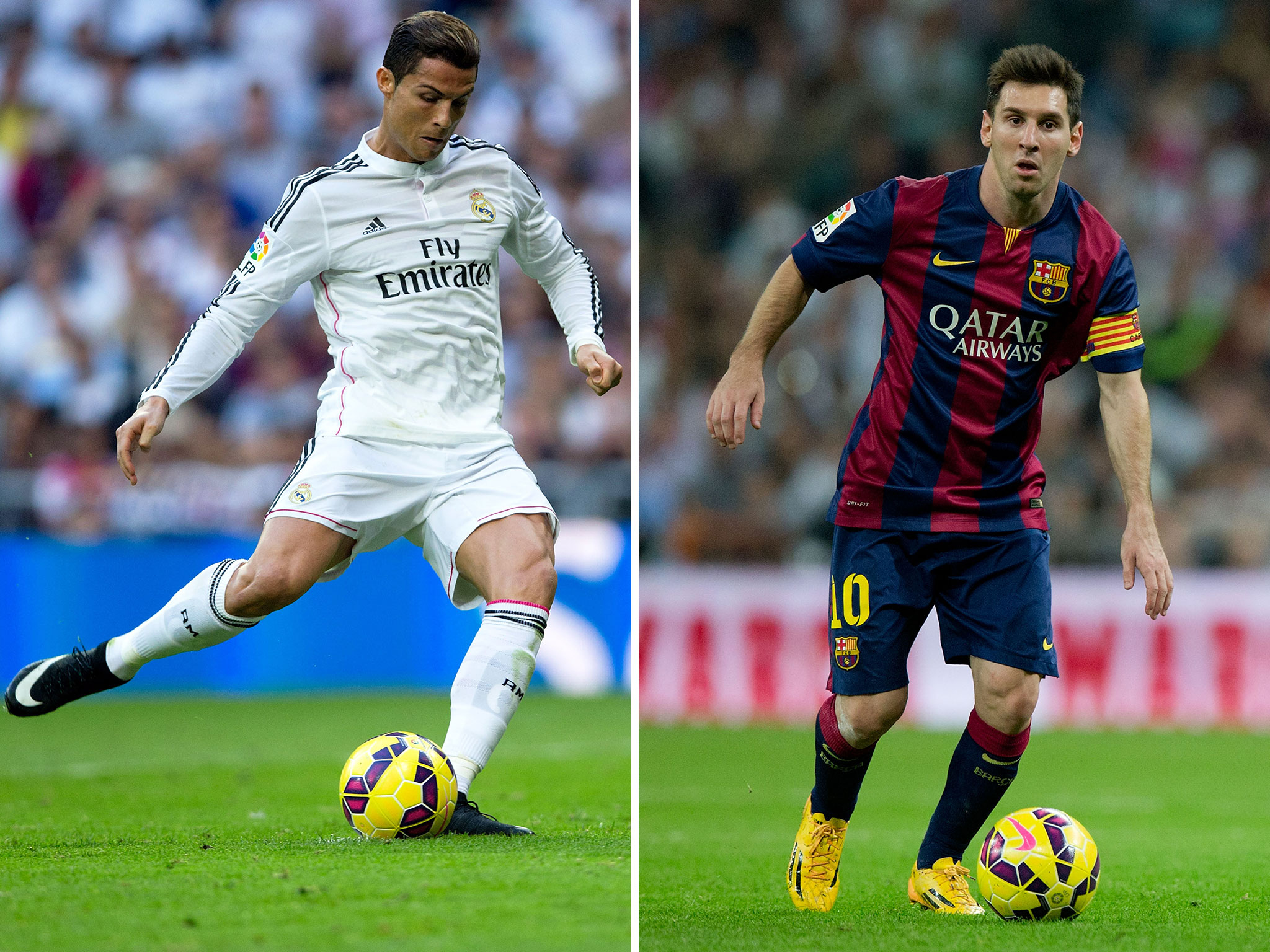 Ronaldo Vs Messi Wallpapers 2015 2048x1536