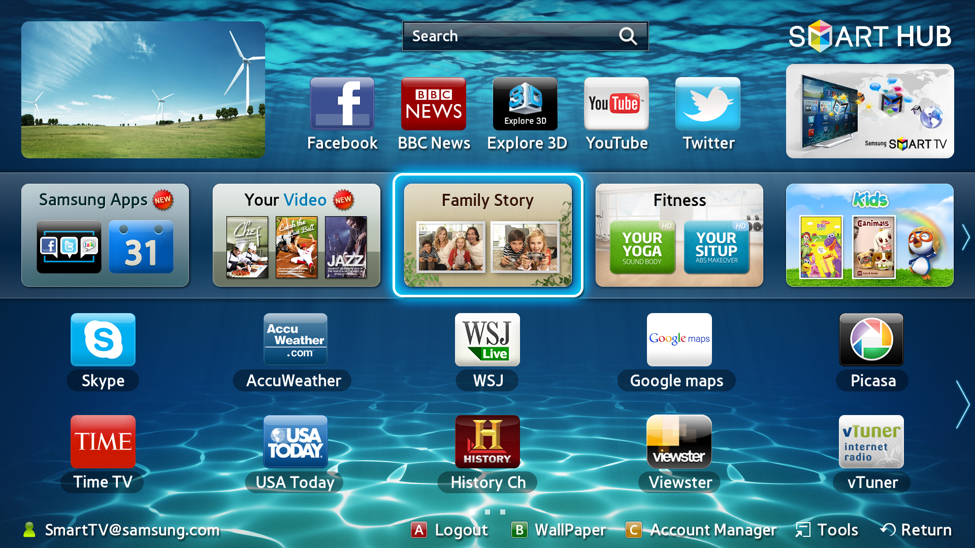 43 Smart Tv Wallpaper On Wallpapersafari
