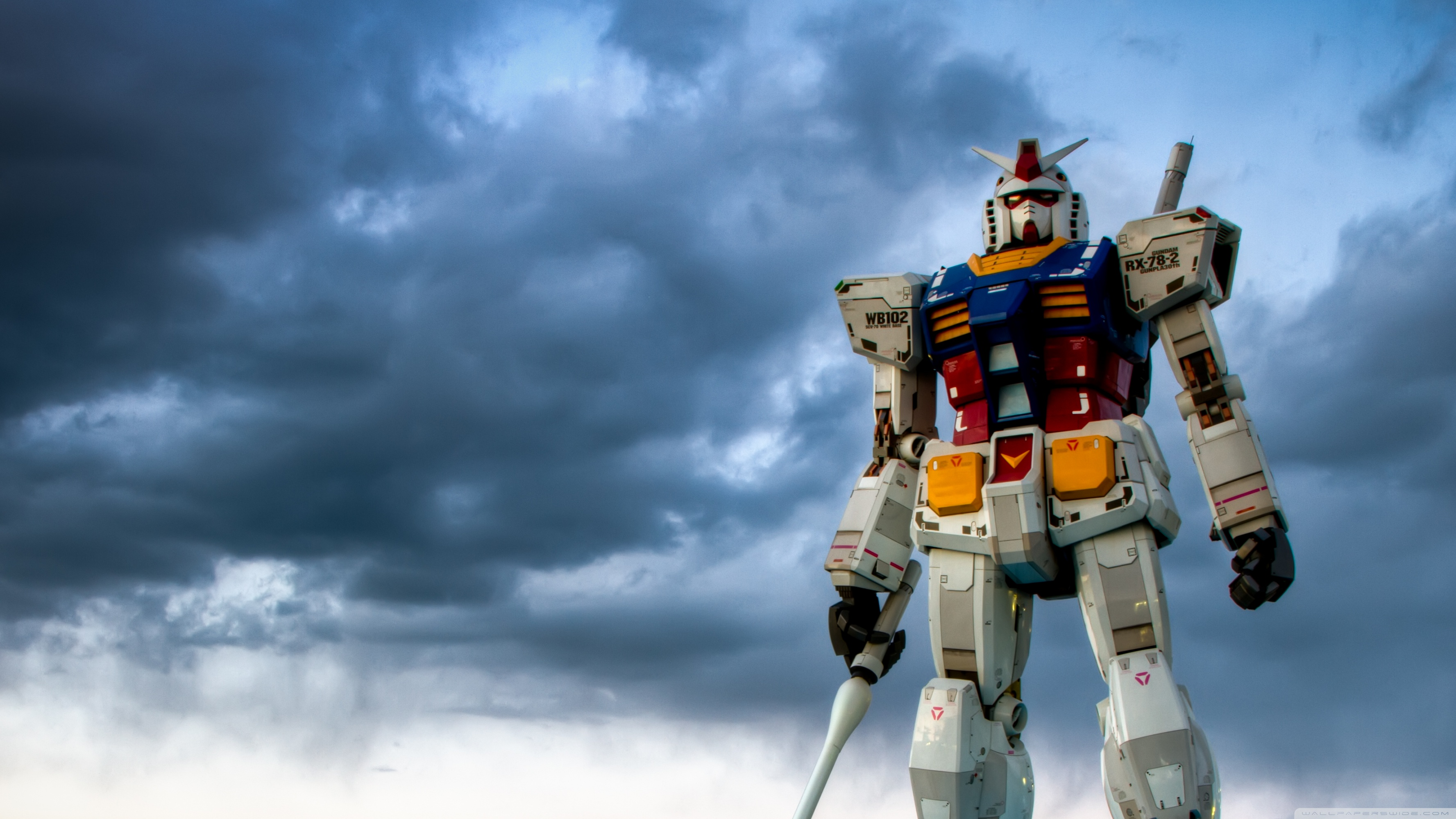Gundam Odaiba 4K HD Desktop Wallpaper for 4K Ultra HD TV Wide 3554x1999