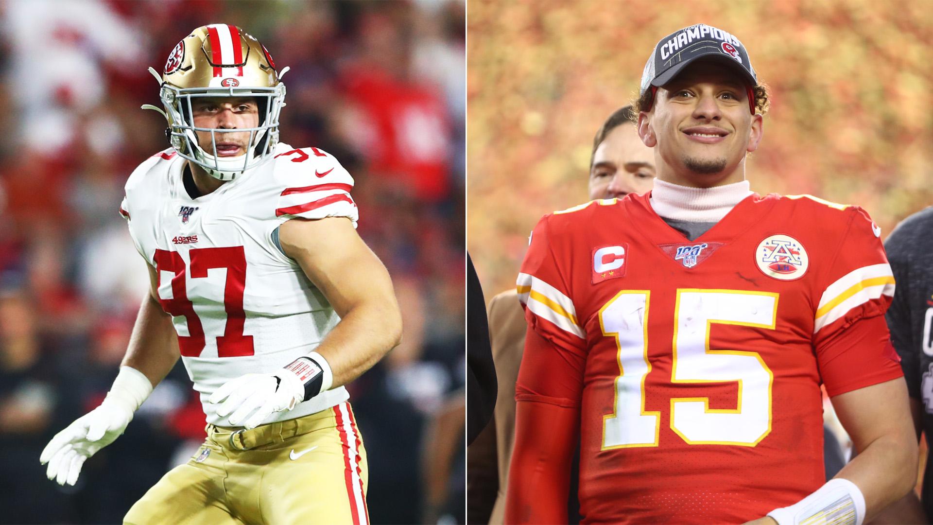 Super Bowl 54 Five key 49ers Chiefs matchups that could decide 1920x1080