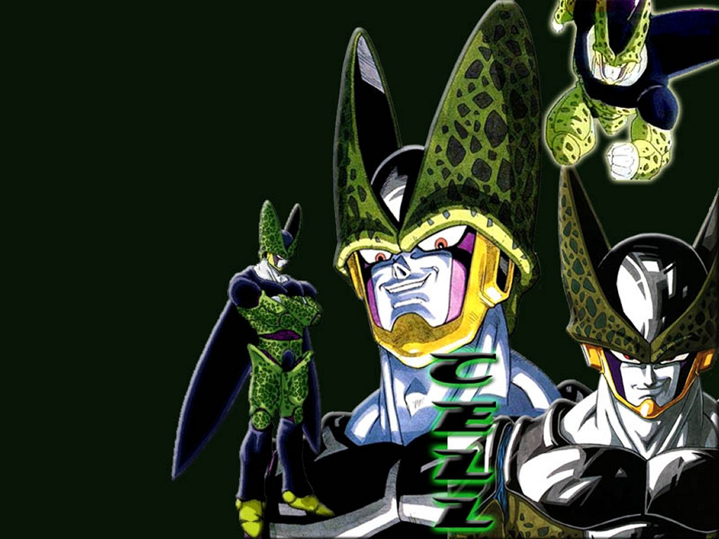 cell dragon ball z dbz dragonball anime manga 347303 1024x768