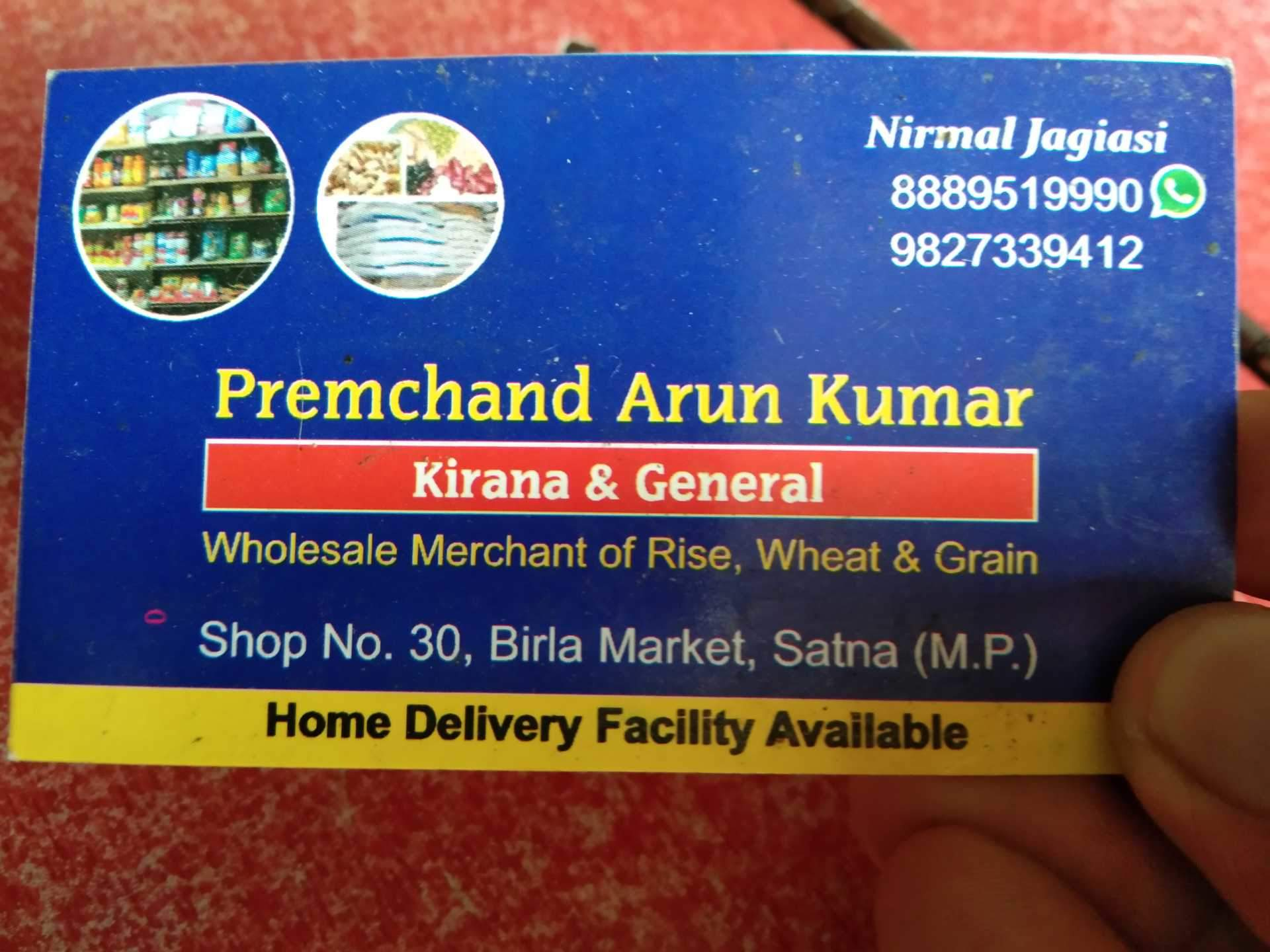 Prem Chandra Arun Kumargenral Store   Grocery Stores in Satna 1920x1440
