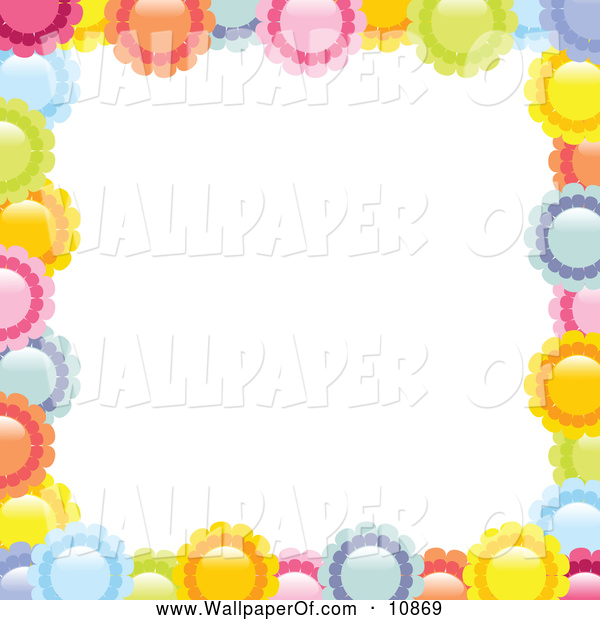 Wallpaper Pretty Border 600x620
