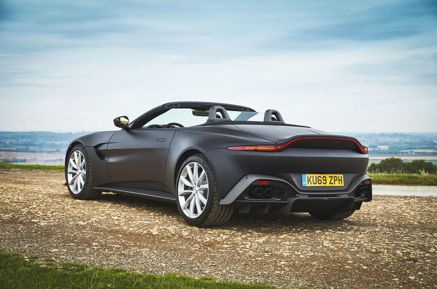 Aston Martin preparing Vantage Roadster for 2020 reveal Autocar 900x596