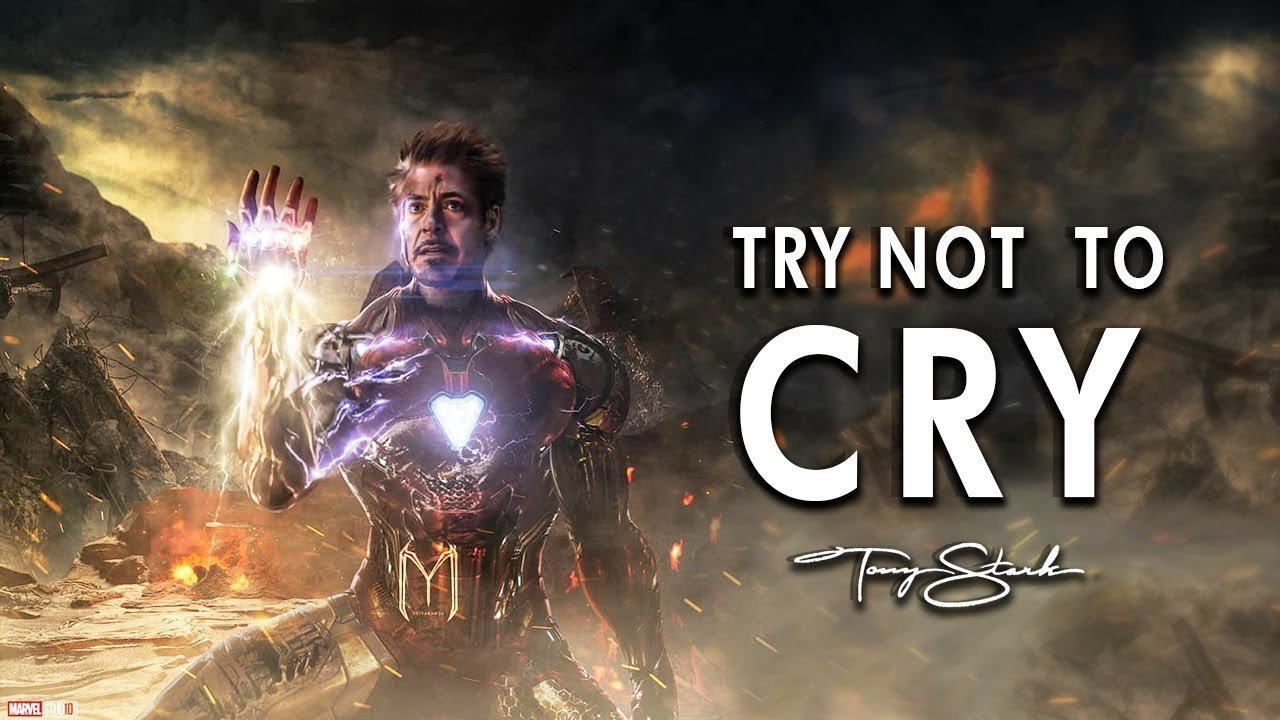 Tribute to Iron Man   Tony Stark Avengers End Game Last Scene 1280x720