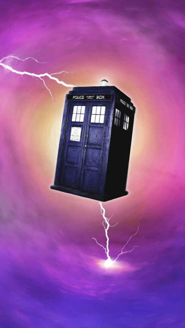 Doctor Who iPhone 5 wallpaper the Tardis 639x1134