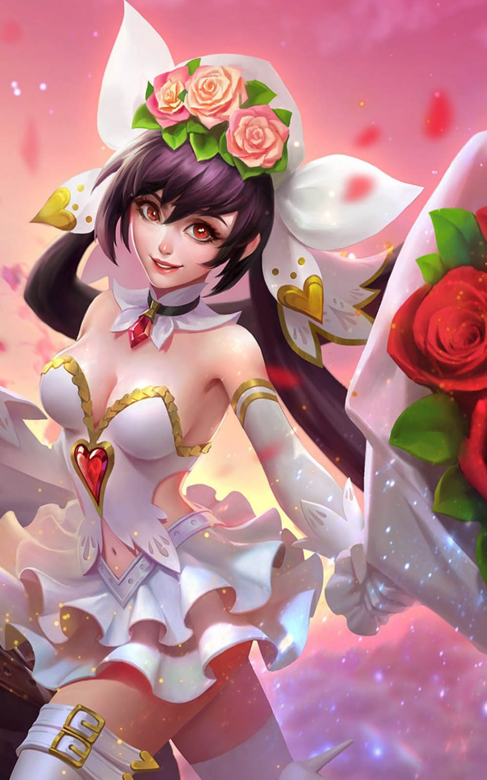 Download Cannon And Roses Layla Mobile Legends Pure 4K Ultra 950x1520