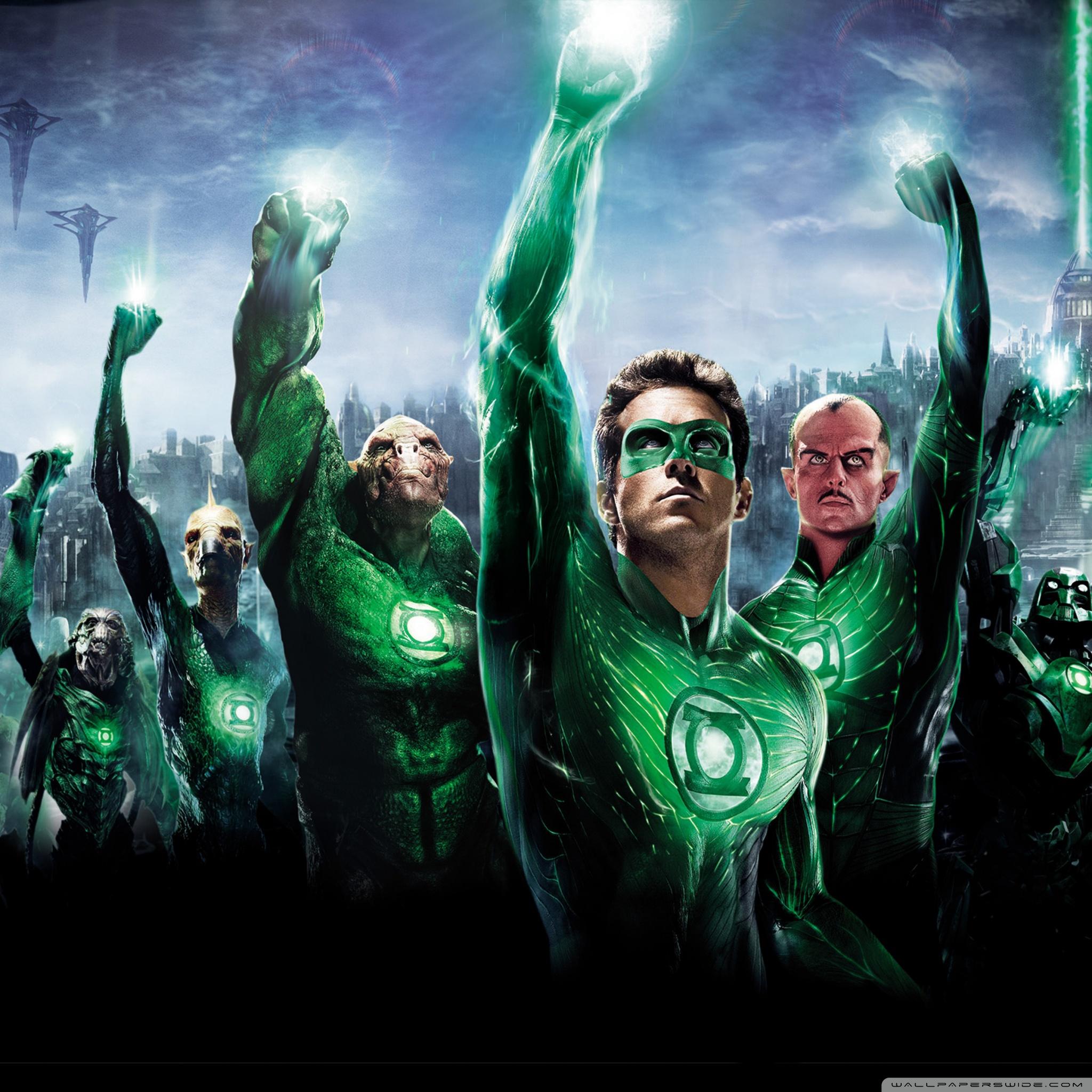 Green Lantern Movie 2011 4K HD Desktop Wallpaper for 4K Ultra 2048x2048