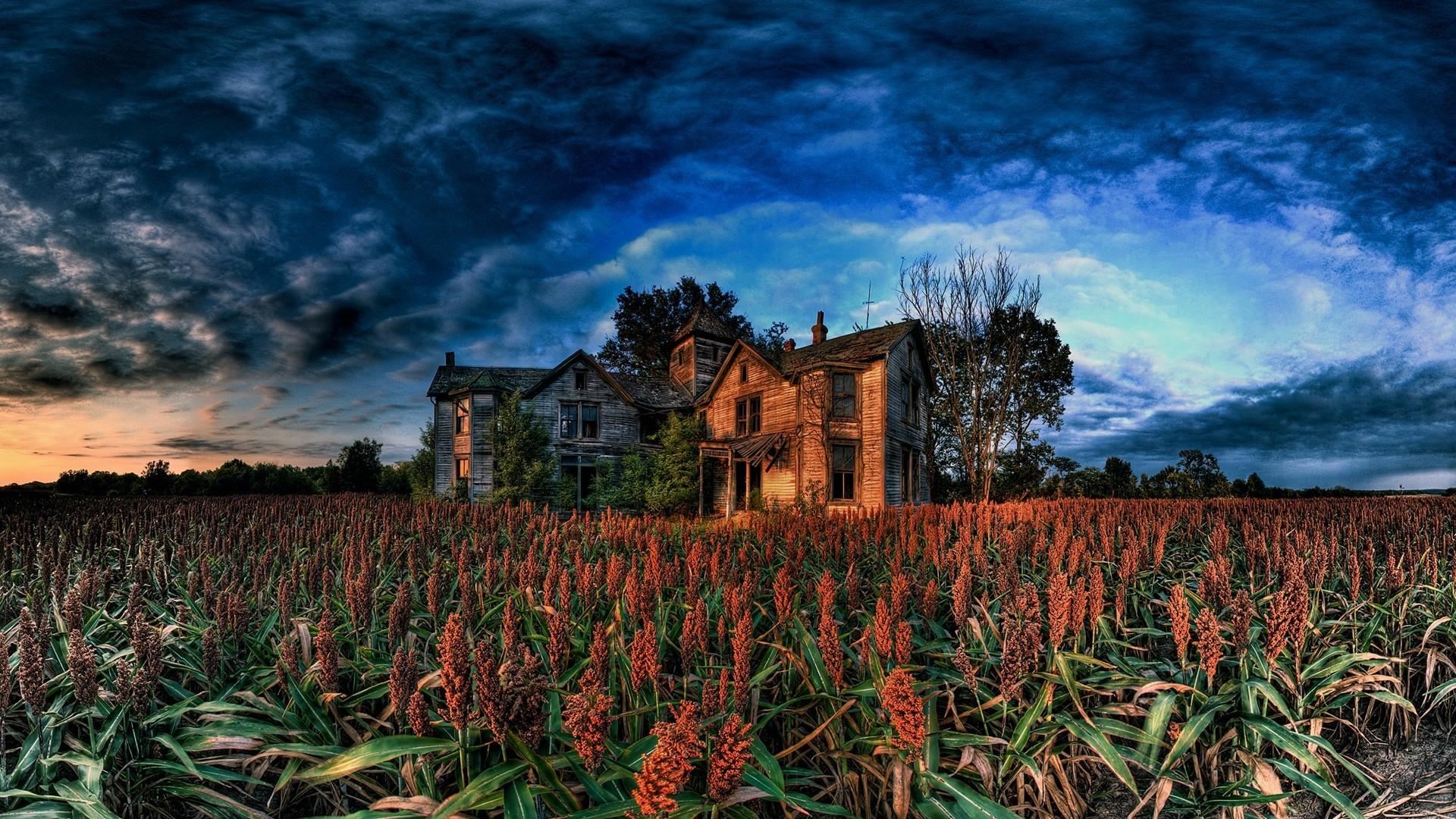 Abandoned farm house wallpaper   94028 1920x1080