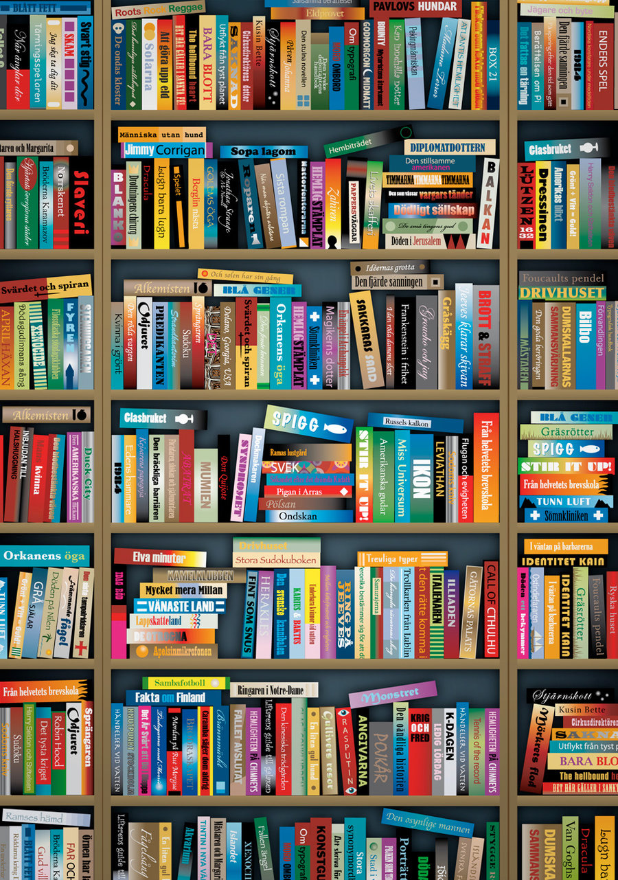 Bookcase by JCallius 900x1281