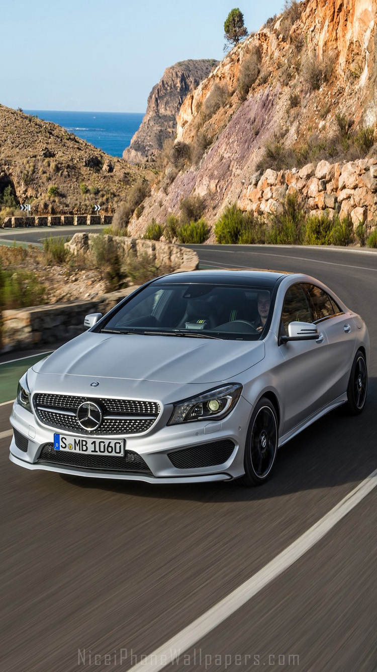 Mercedes Benz Cla class Wallpaper HD 5   750 X 1334 Wall 750x1334