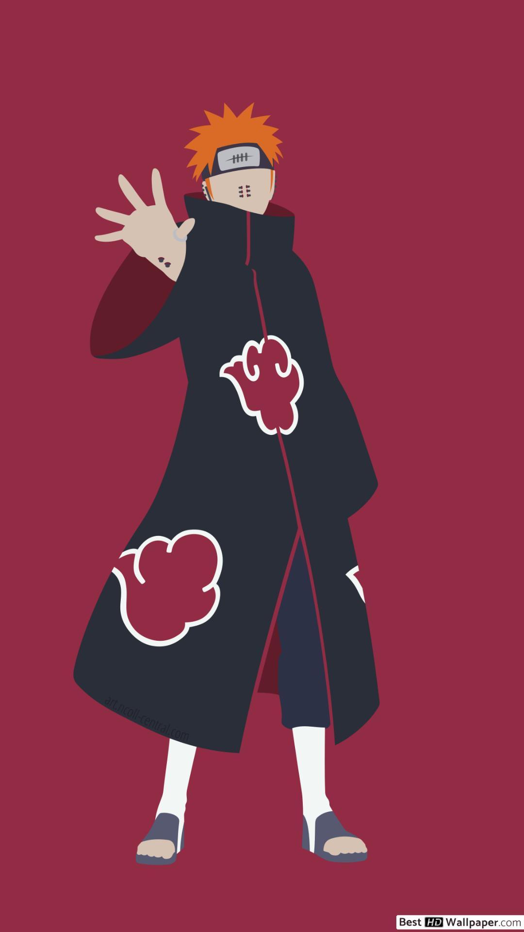 Pain Yahiko of Naruto HD wallpaper download 1080x1920