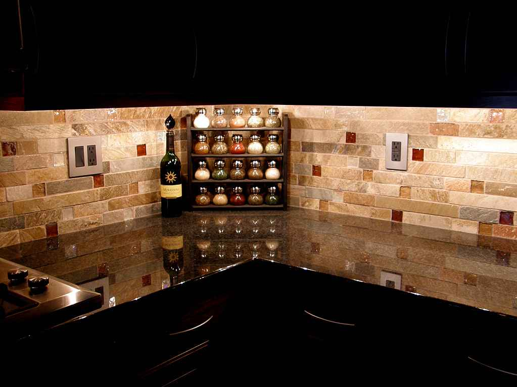 Paintable Wallpaper Backsplash Feel The Home 1023x767