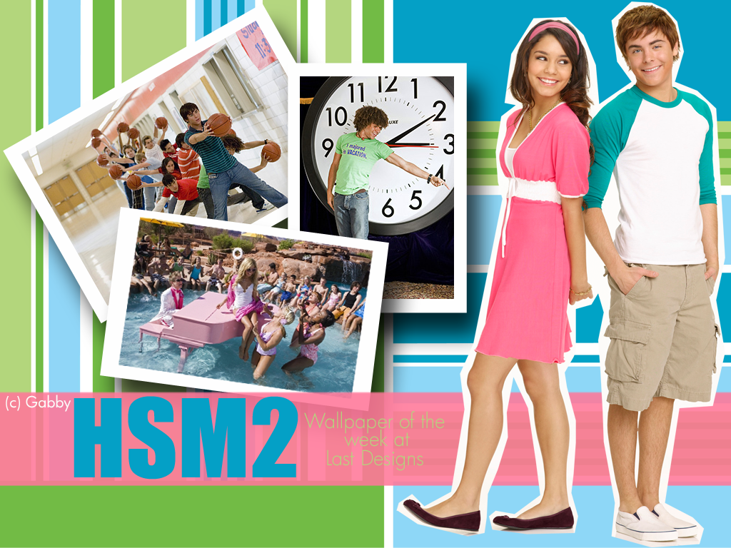 High School Musical Wallpaper Background Theme Desktop 1024x768