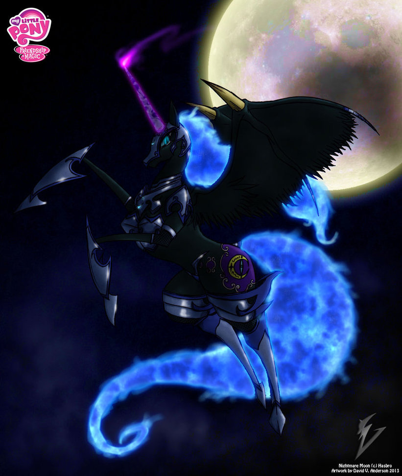 Mlp Wallpapers: MLP Nightmare Moon Wallpaper