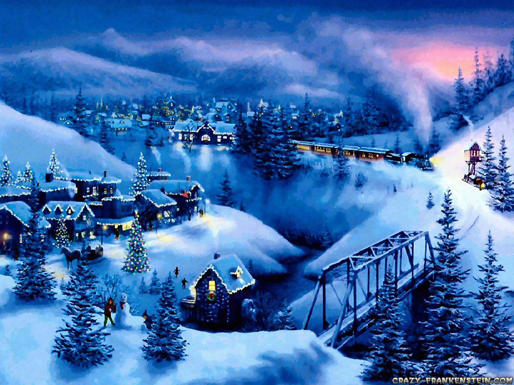 HD Widescreen Backgrounds Wallpapers Christmas 1024x768