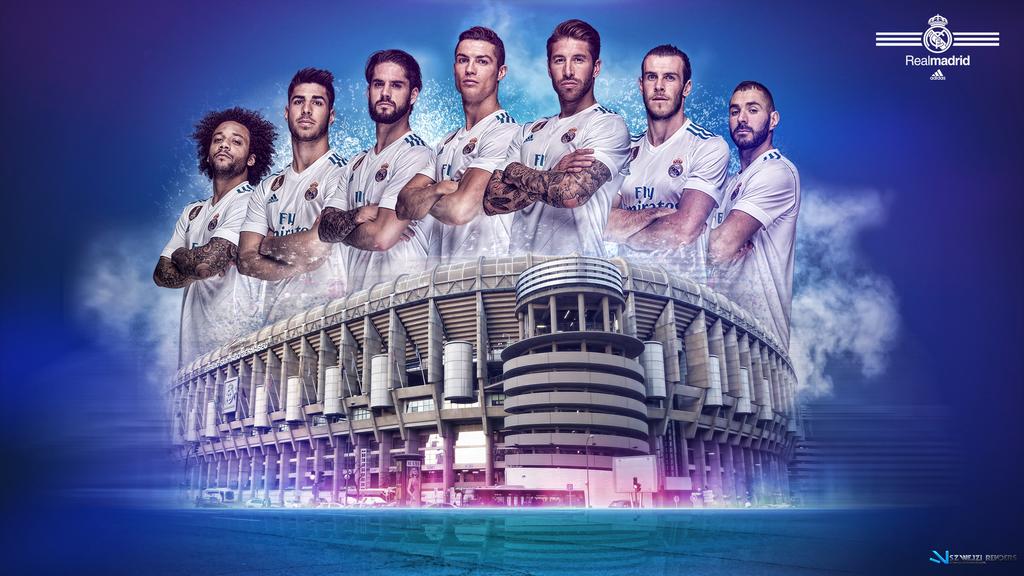 Real Madrid 2017 2018 Wallpaper by szwejzi 1024x576