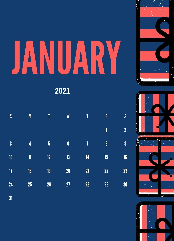 Cute January 2021 Calendar Wallpaper Calendar design Calendar 1587x2197