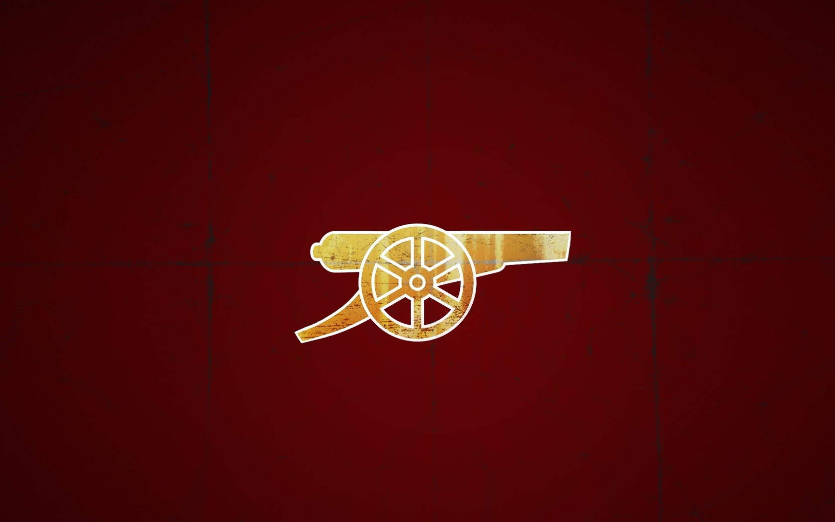 Download Arsenal Football Club logo wallpaper 1680x1050